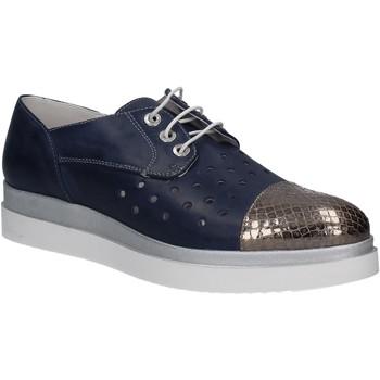 Čevlji  Ženske Čevlji Derby Keys 5107 Modra