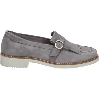 Čevlji  Ženske Mokasini Maritan G 160489 Siva