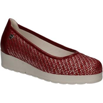 Čevlji  Ženske Balerinke Keys 5125 Rdeča