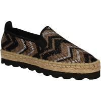 Čevlji  Ženske Espadrile Keys 5345 Črna
