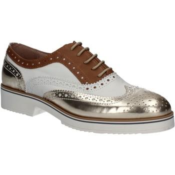 Čevlji  Ženske Čevlji Richelieu Mally 5813 Zlato