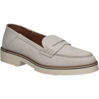 Čevlji  Ženske Mokasini Mally 5876 Srebro
