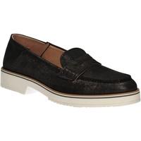 Čevlji  Ženske Mokasini Mally 5876 Črna