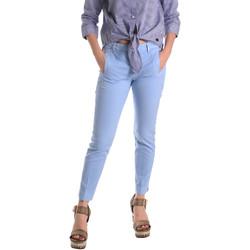 Oblačila Ženske Hlače Chino / Carrot Fornarina BE171L74G29118 Modra