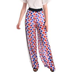 Oblačila Ženske Lahkotne hlače & Harem hlače Fornarina BE171L91CA0676 Biely