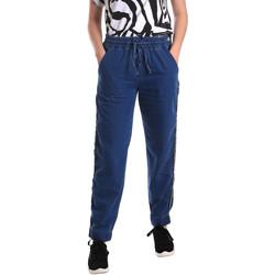 Oblačila Ženske Jeans straight Fornarina BE171L93D883SK Modra