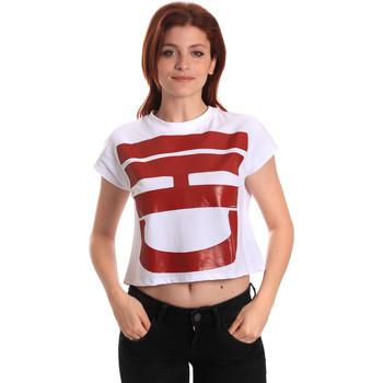 Oblačila Ženske Majice s kratkimi rokavi Fornarina BE175L31JG0709 Biely