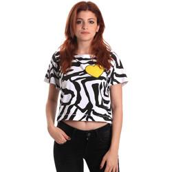 Oblačila Ženske Majice s kratkimi rokavi Fornarina BE175L35JG0700 Črna