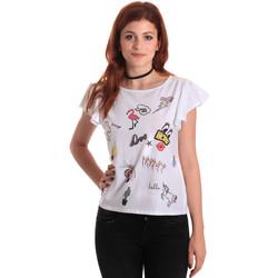 Oblačila Ženske Majice s kratkimi rokavi Fornarina BE175L40JG0709 Biely