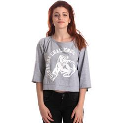 Oblačila Ženske Puloverji Fornarina BE176841F42706 Siva