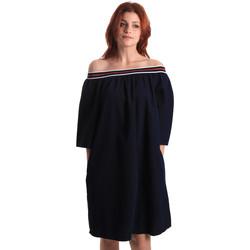 Oblačila Ženske Kratke obleke Fornarina BE178D60D883NT Modra