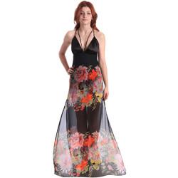 Oblačila Ženske Dolge obleke Fornarina BE178D67CA0700 Črna