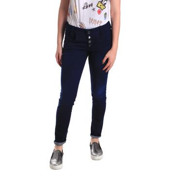 Oblačila Ženske Jeans skinny Fornarina BER1I02D784R50 Modra