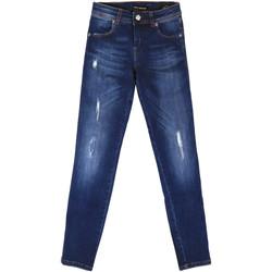 Oblačila Ženske Jeans boyfriend Fornarina BER1I89D844UA Modra