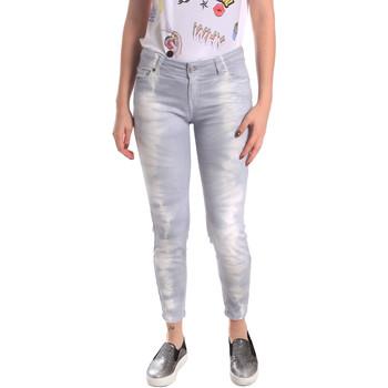 Oblačila Ženske Jeans boyfriend Fornarina BER1L01D851GD Siva