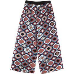Oblačila Ženske Lahkotne hlače & Harem hlače Fornarina BER1L08C98294 Črna