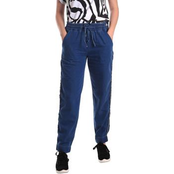 Oblačila Ženske Jeans straight Fornarina SE171L93D883SK Modra