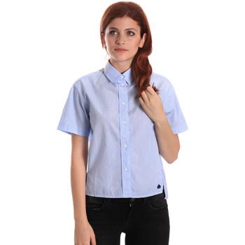 Oblačila Ženske Srajce & Bluze Fornarina SE174567CA1218 Modra
