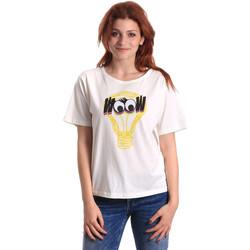 Oblačila Ženske Majice s kratkimi rokavi Fornarina SE175L27JG1608 Biely