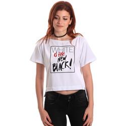 Oblačila Ženske Majice s kratkimi rokavi Fornarina SE175L28JG0709 Biely