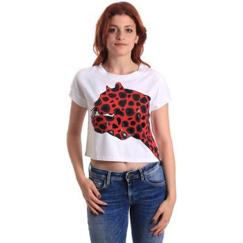 Oblačila Ženske Majice s kratkimi rokavi Fornarina SE175L32JG0709 Rdeča