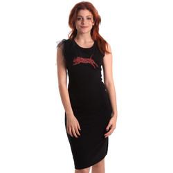 Oblačila Ženske Kratke obleke Fornarina SE178D55F42400 Črna