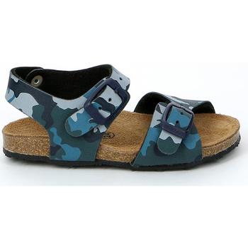 Čevlji  Otroci Sandali & Odprti čevlji Grunland SB0911 Modra