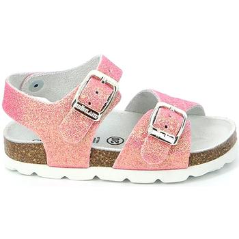 Čevlji  Deklice Sandali & Odprti čevlji Grunland SB0024 Roza