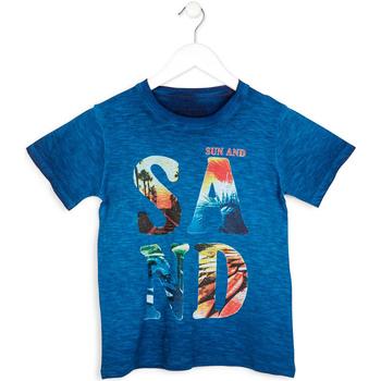 Oblačila Dečki Majice s kratkimi rokavi Losan 713 1023AA Modra
