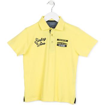 Oblačila Otroci Polo majice kratki rokavi Losan 713 1032AA Rumena