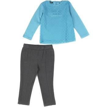 Oblačila Deklice Otroški kompleti Losan 626 8027AD Modra
