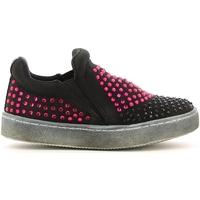Čevlji  Deklice Slips on Lulu LS150024T Črna