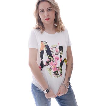 Oblačila Ženske Majice s kratkimi rokavi Fracomina FR20SP368 Biely