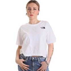 Oblačila Ženske Majice s kratkimi rokavi The North Face NF0A4SYCFN41 Biely