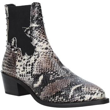 Čevlji  Ženske Gležnjarji Apepazza 9FCLM05 Siva
