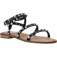 Čevlji  Ženske Sandali & Odprti čevlji Steve Madden SMSTRAVEL-BLK Črna