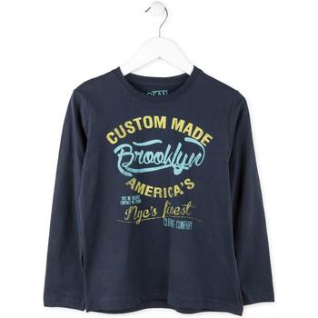 Oblačila Dečki Majice z dolgimi rokavi Losan 713 1202AA Modra