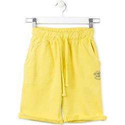 Oblačila Otroci Kratke hlače & Bermuda Losan 713 6016AA Rumena