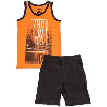 Oblačila Dečki Otroški kompleti Losan 713 8044AA Oranžna
