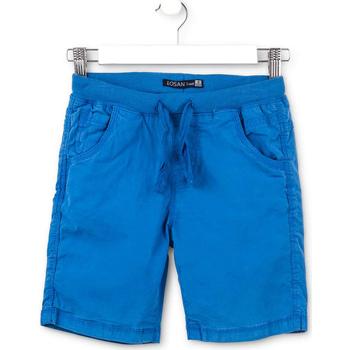 Oblačila Otroci Kratke hlače & Bermuda Losan 713 9665AA Modra