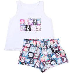 Oblačila Deklice Otroški kompleti Losan 714 8000AB Biely