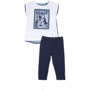 Oblačila Deklice Otroški kompleti Losan 714 8002AB Modra