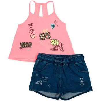 Oblačila Deklice Otroški kompleti Losan 714 8010AB Roza