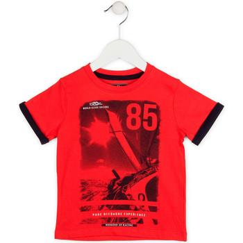 Oblačila Dečki Majice s kratkimi rokavi Losan 715 1001AC Rdeča
