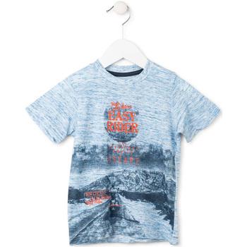 Oblačila Dečki Majice s kratkimi rokavi Losan 715 1018AC Modra