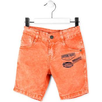 Oblačila Dečki Kratke hlače & Bermuda Losan 715 9009AC Oranžna