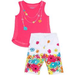 Oblačila Deklice Otroški kompleti Losan 716 8002AD Roza