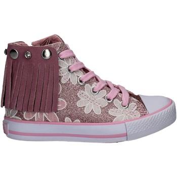 Čevlji  Deklice Visoke superge Lulu LV010072S Roza