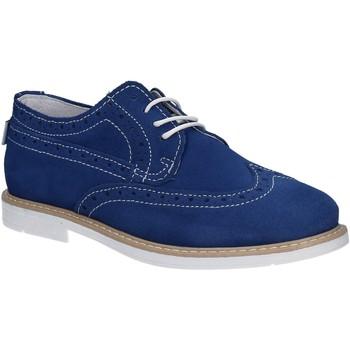 Čevlji  Dečki Čevlji Derby Melania ME6045F7E.G Modra