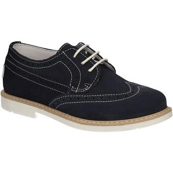 Čevlji  Dečki Čevlji Derby Melania ME2045D7E.F Modra